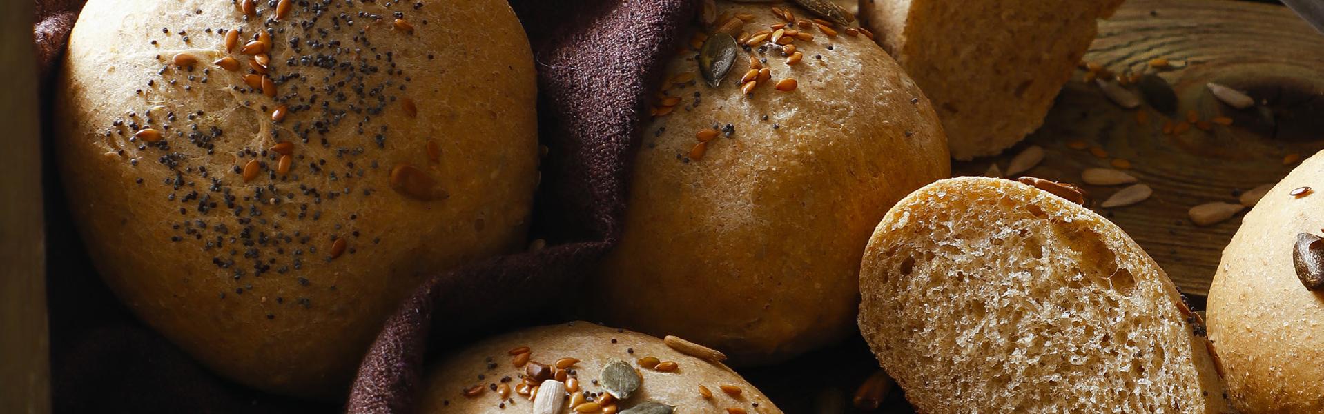 4 grain bread rolls