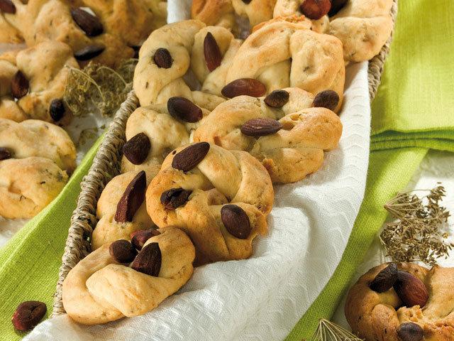 Sobremesa: Biscoitos Taralli em banha de porco com erva-doce