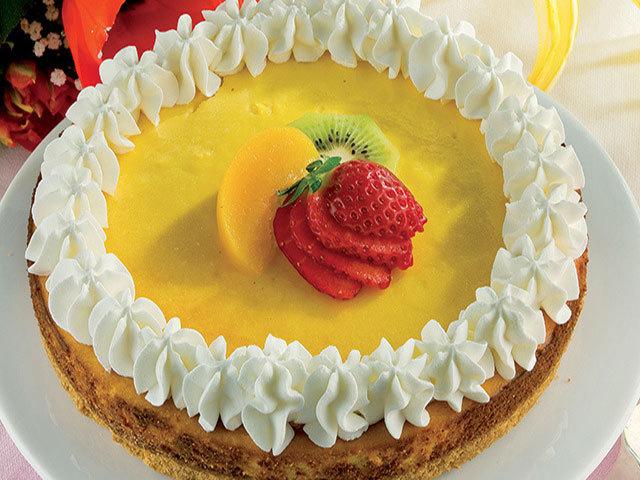 Sobremesa: Cheesecake de baunilha