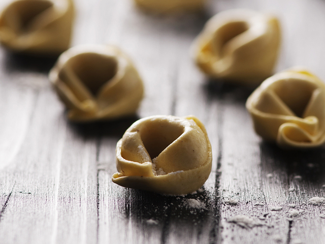 First dishes: Tortellini