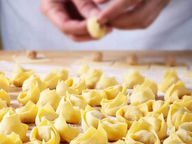 Primeros cursos: Tortellini Light