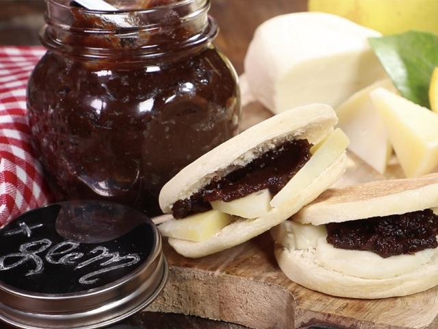 Desserts: Savòr (cooked grape must preserve)