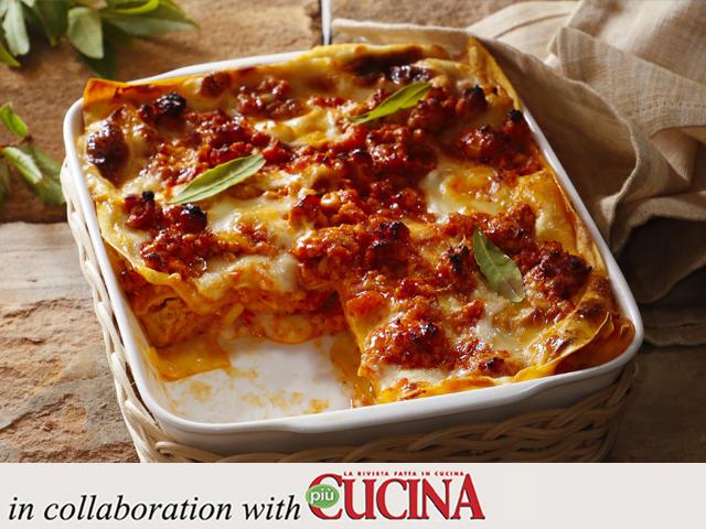 Specialista by Glem : Lasagne rosse al ragù di pollo