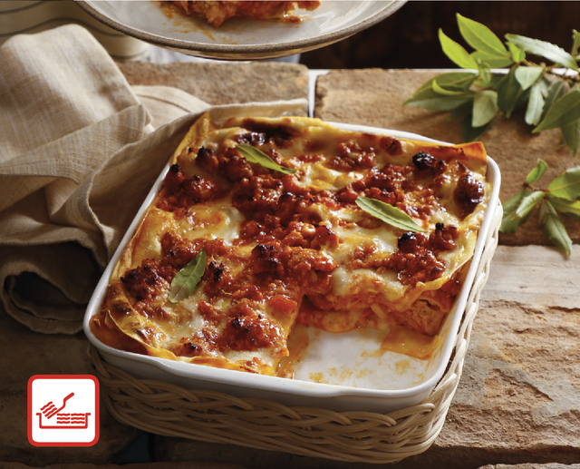 Lasagne e pasta sfoglia