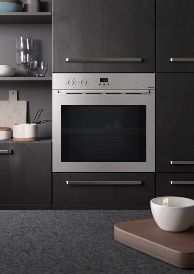 The new built-in ovens: the technology at your fingertip