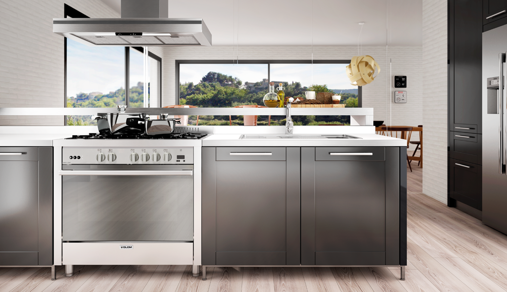 "STYLISH STEEL Matrix cookers: design at the best for your ""showtime"""