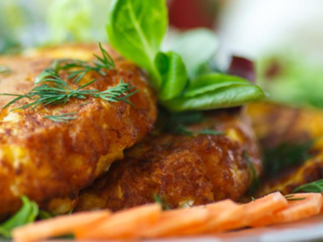 Second dishes: Pumpkin burgers