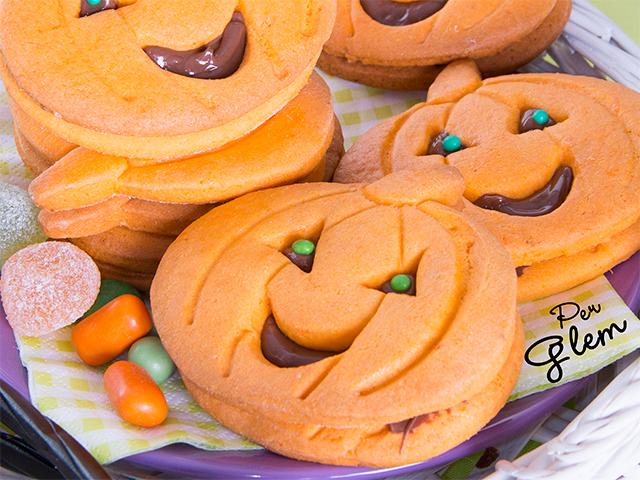 Dessert: Citrouilles d'Halloween