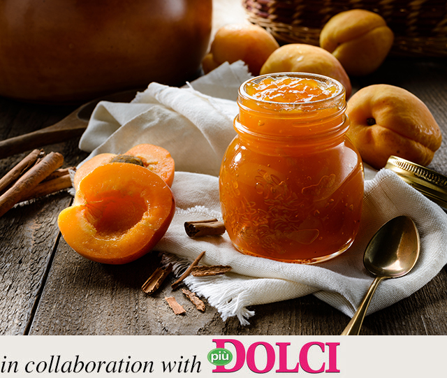 Desserts: Apricot jam