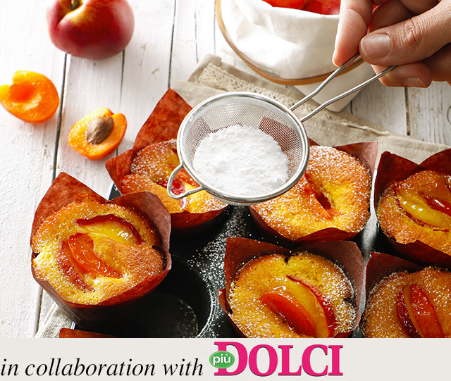 Specialista by Glem : Peach and apricot muffins
