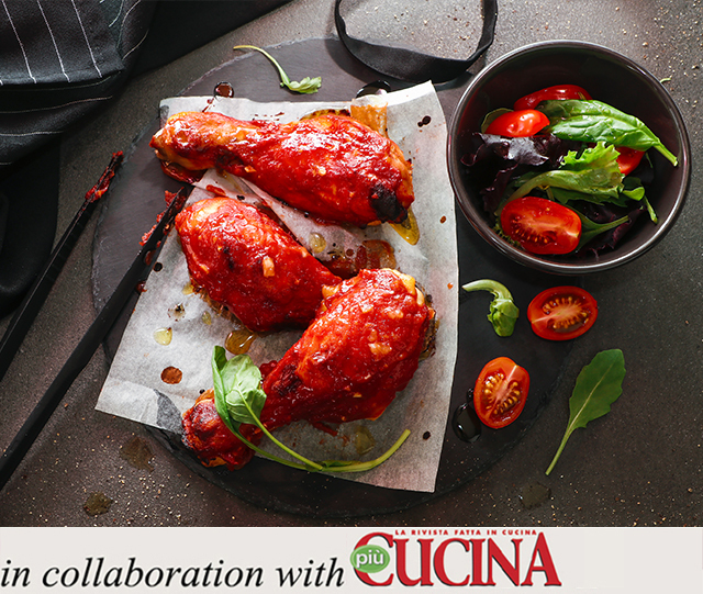 Specialista by Glem : Chicken drumsticks in BBQ sauce