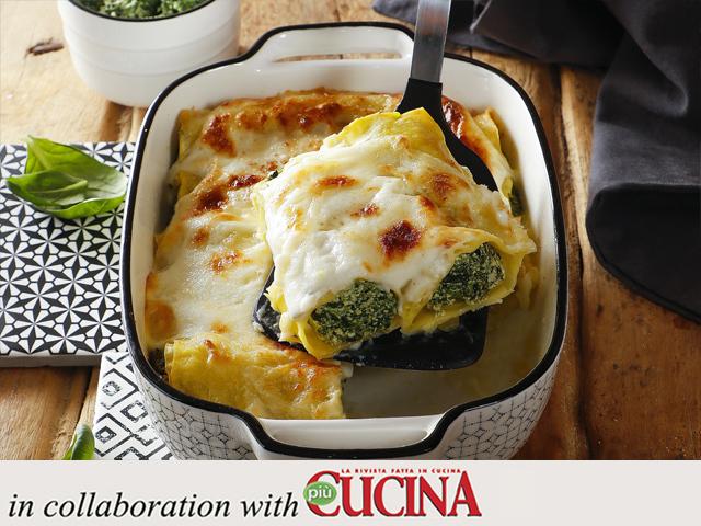 Specialista by Glem Gas: Cannelloni ricotta e spinaci