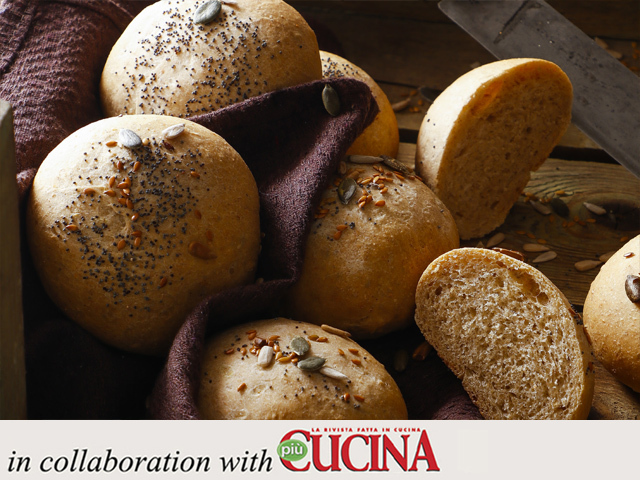 Specialista by Glem : 4 grain bread rolls