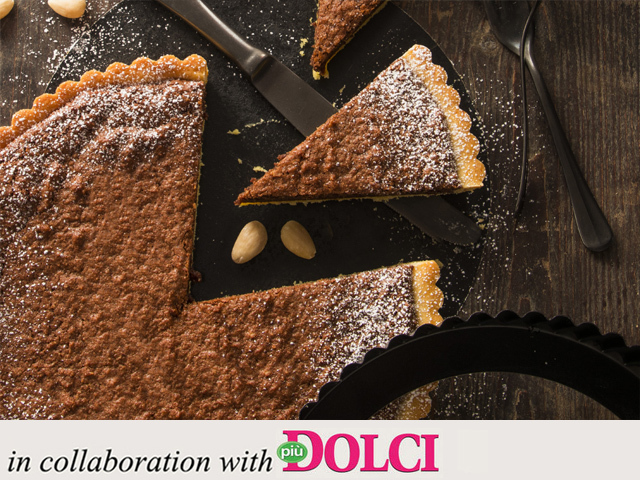 Specialista by Glem : Chocolate and almond tart