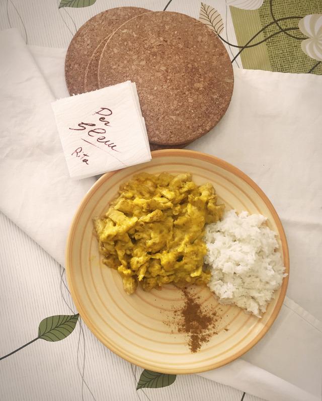Il pollo al curry di Rita