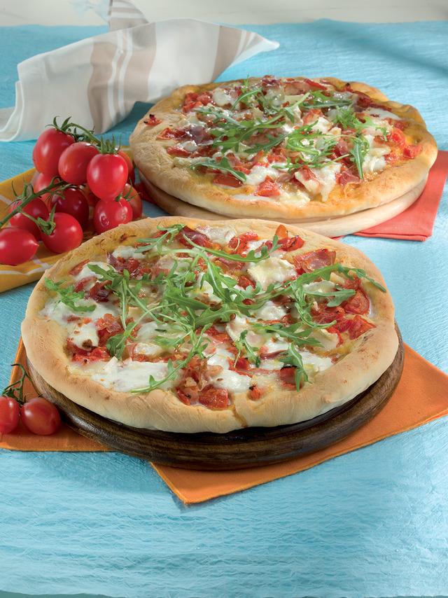 Pizza com brie