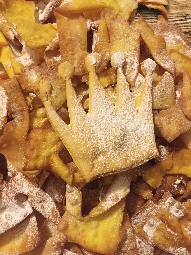 Silvana's 'frappe' carnival pastries