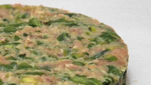 Svizzere alle zucchine e prosciutto croccante