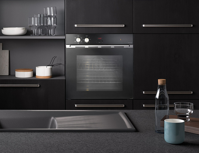 The new built-in ovens Glem Gas cucinare con stile Ovens