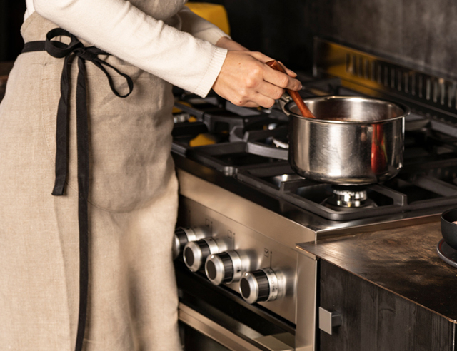 Des solutions sur-mesure Cuisiner avec classe Ligne cuisinières