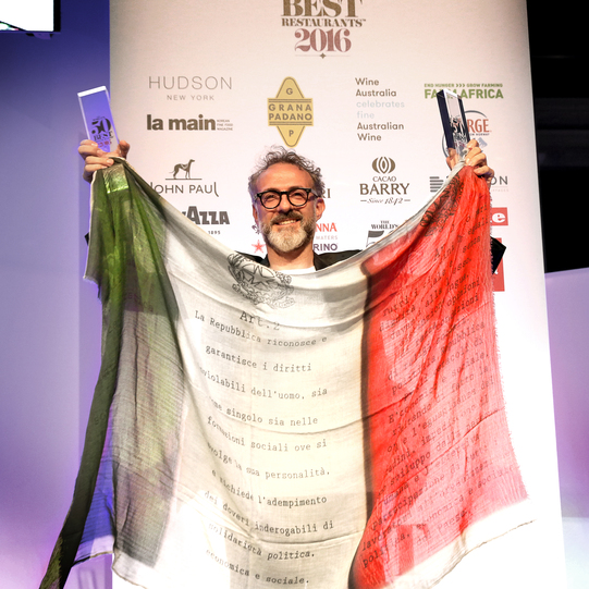 The world's best restaurant is in Modena