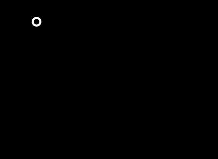 Technical drawing Gloss Black 90cm Gas Cooker - GA965GGXN - Glem Gas