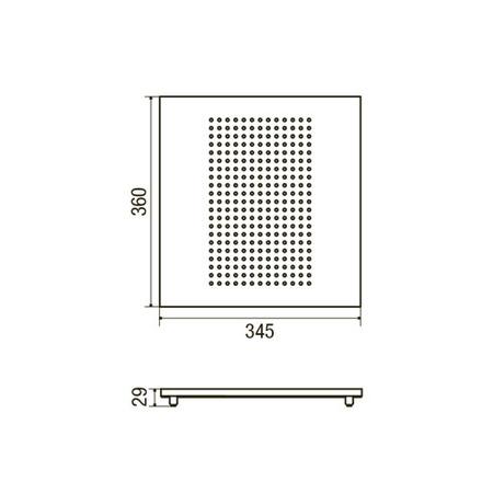 Disegno tecnico Colatoio - GPCOAQIX - Glem Gas