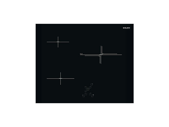 Ceramic Glass Hob 3 zones