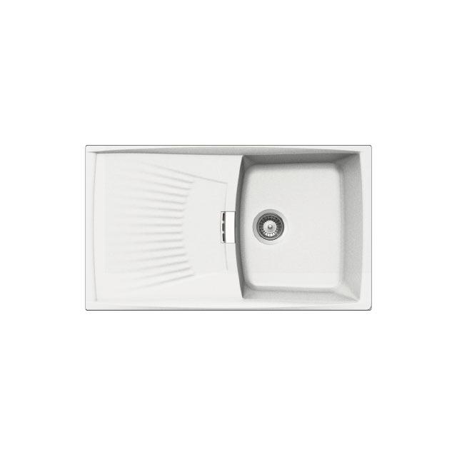 Lavello unigranit bianco - L1G86WH