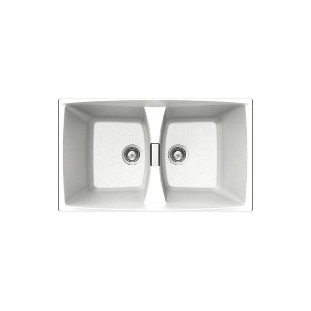 Lavello unigranit bianco - L286WH