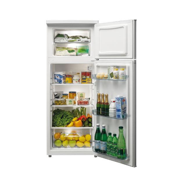 Réfrigérateur congélateur 2 portes pose libre 143 cm blanc - GRF210WH
