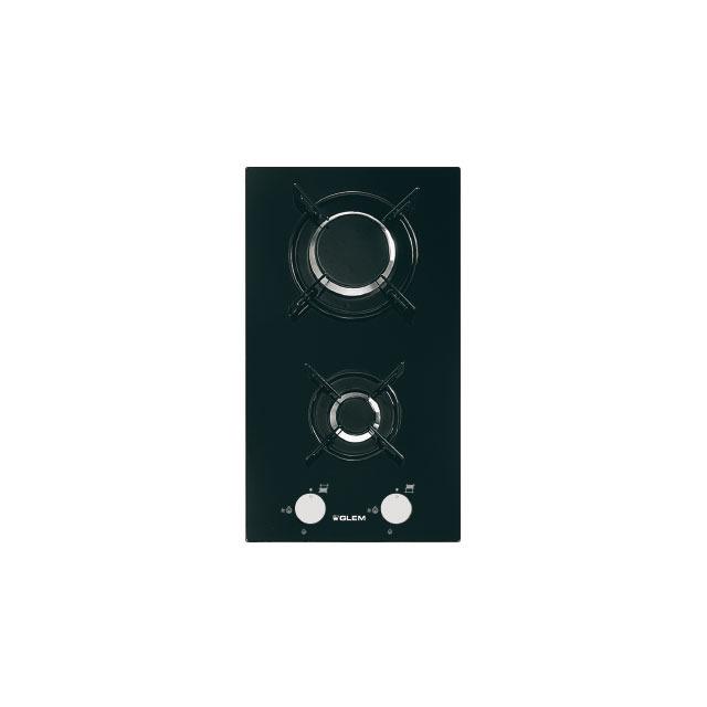 Domino verre gaz noir - GV32BK