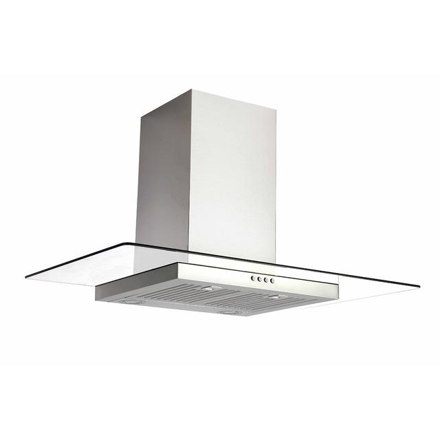 90 cm SS Flat Glass canopy