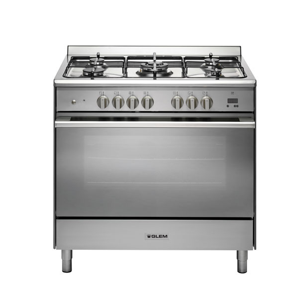 DUAL FUEL 90CM STAINLESS STEEL COOKER - UN965EI