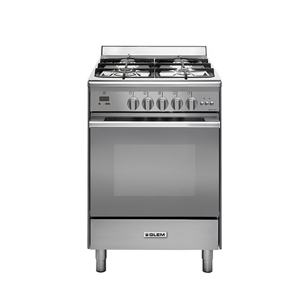 All gas 60cm stainless steel cooker