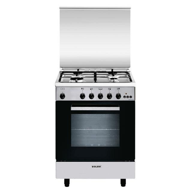 Cuisinière gaz catalyse 60 x 50 cm inox - GA650CMIX