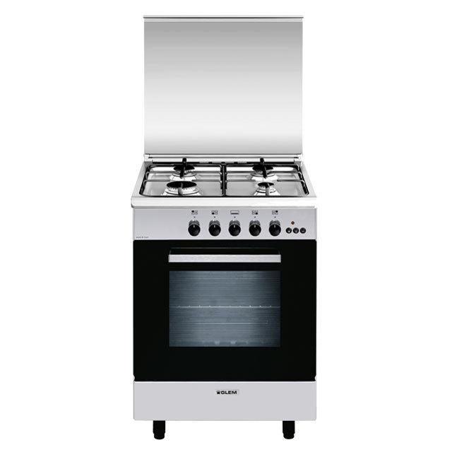 Cuisinière gaz catalyse 60 x 60 cm inox - GA660CMIX