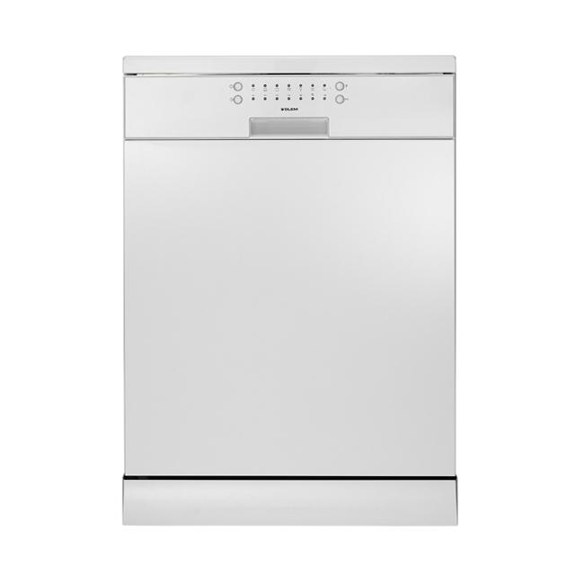 60cm White Electronic Dishwasher