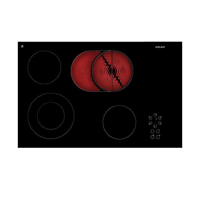 Gth75t table vitroc ramique cuisson produits glem gas - Tables de cuisson vitroceramique ...