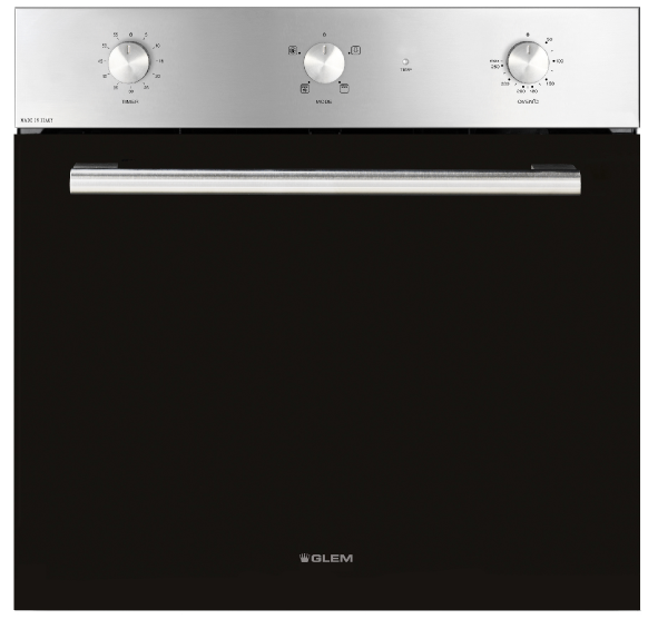 Glem Classic 60cm Fan Forced Electric Oven