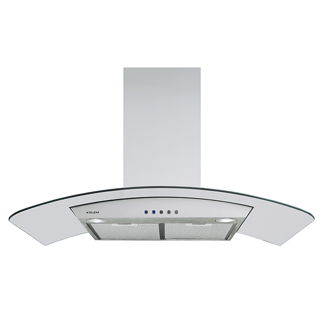 Wall Glass hood 90 cm
