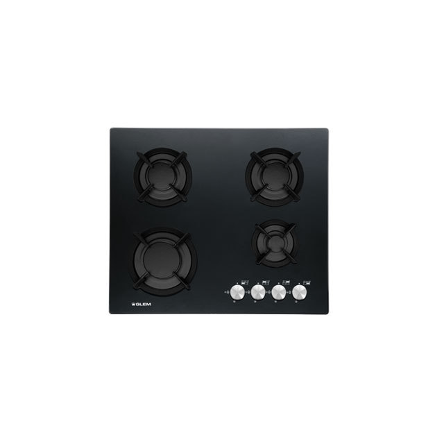 Crystal gas hob