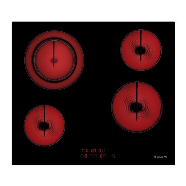 Placa vitrocerâmica 60