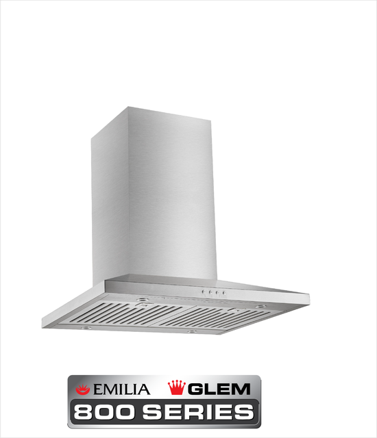 60cm Stainless Steel Slim Line Low Profile Rangehood