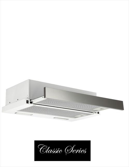60cm SS slide out DUCTED rangehood
