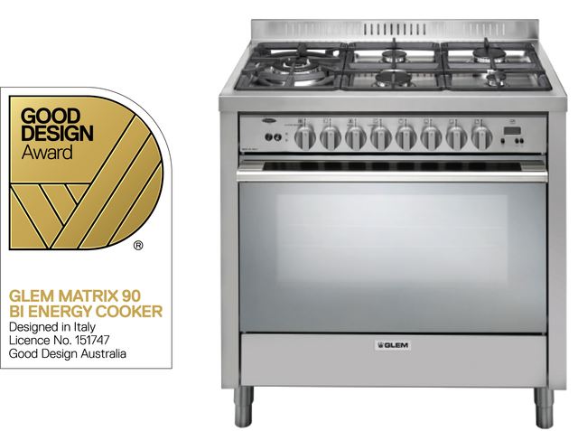 BI ENERGY COOKER - The oven works on gas or electricity