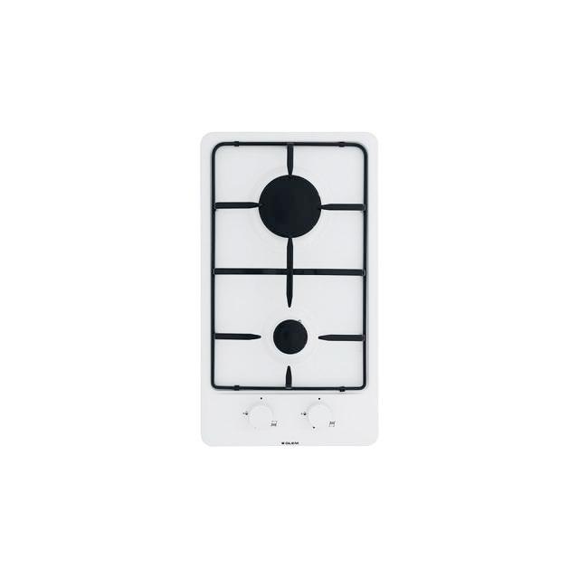 Domino gaz émaillé blanc - GT32WH