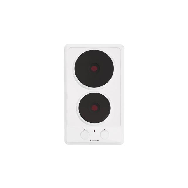 Domino électrique émaillé blanc - GT320WH