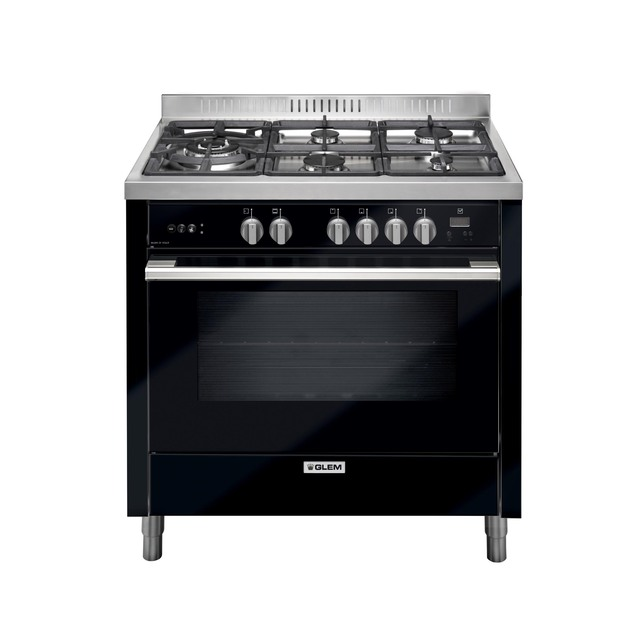 90cm Black Gas Cooker - NEW FOR 2019