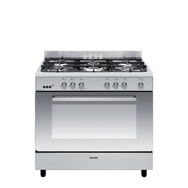 Cuisinière gaz catalyse 90 x 60 cm inox - GE960CMIX2